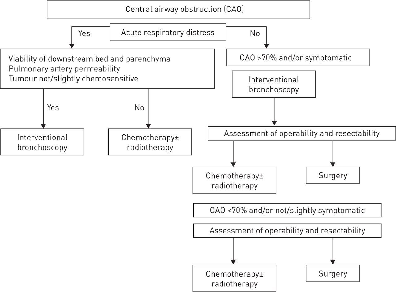 Integration of interventional bronchoscopy in the management