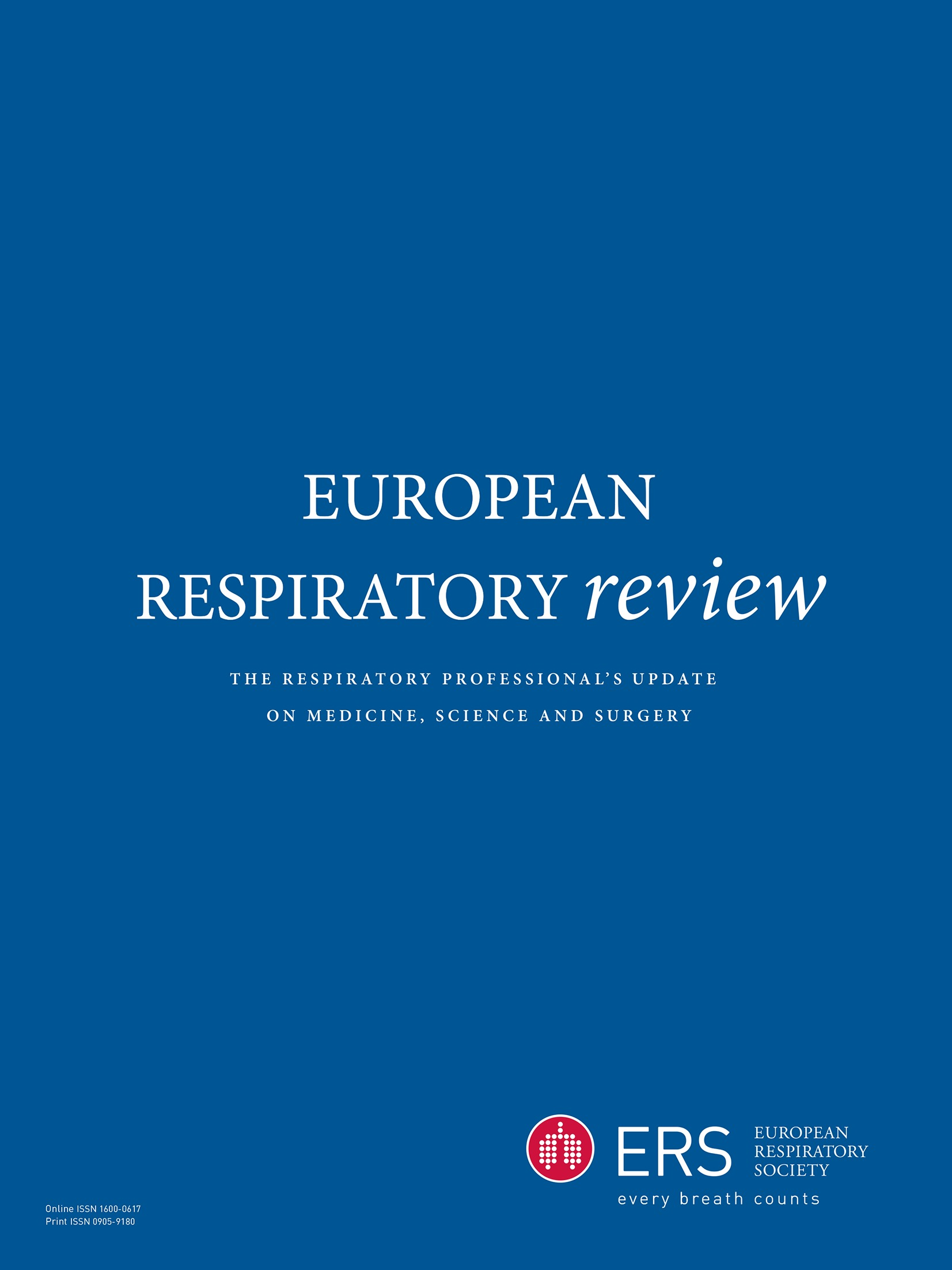Current and new challenges in occupational lung diseases | European ...