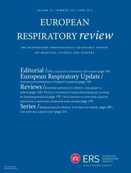 European Respiratory Review: 25 (140)