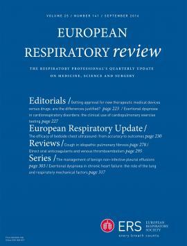 European Respiratory Review: 25 (141)