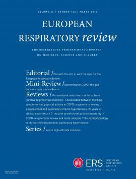 European Respiratory Review: 26 (143)