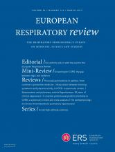 European Respiratory Review: 26 (143)